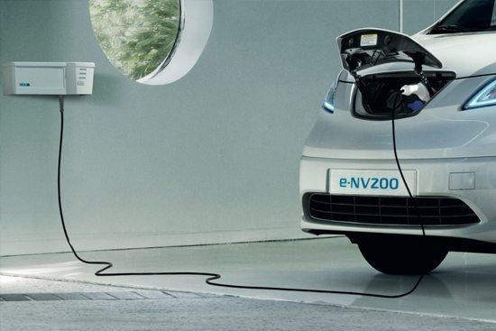 Borne de recharge Nissan