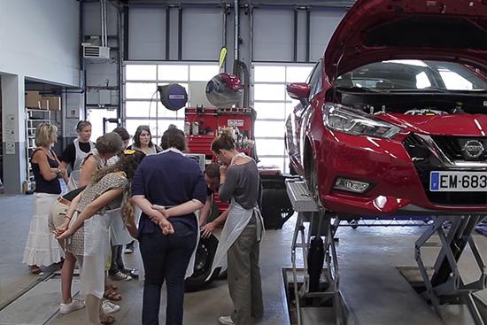 Cours de Mécanique Femmes - Nouvelle Nissan Micra