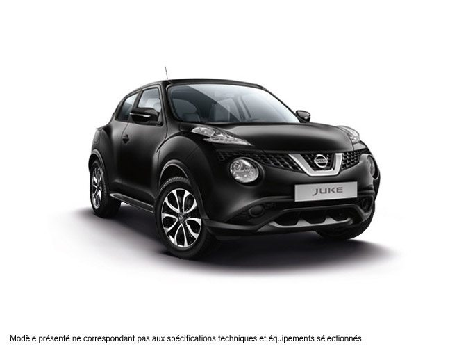 nissan juke essence noir metal perso blanc en stock 21950 n 3488. Black Bedroom Furniture Sets. Home Design Ideas
