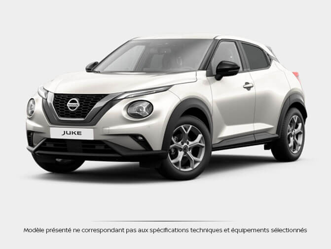 nissan juke diesel qabg blanc lunaire met en stock 22030 n 955965. Black Bedroom Furniture Sets. Home Design Ideas