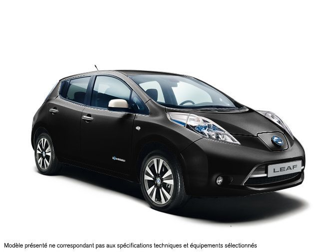 nissan leaf electrique z11g noir met en stock 35770 n 937923. Black Bedroom Furniture Sets. Home Design Ideas