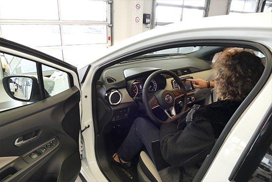 Intérieur Nissan Micra 2017