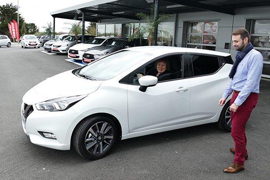 Première Livraison Nissan Micra 2017