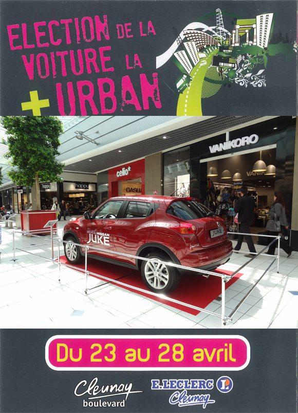 Election de la voiture la plus URBAN au Leclerc Rennes ...