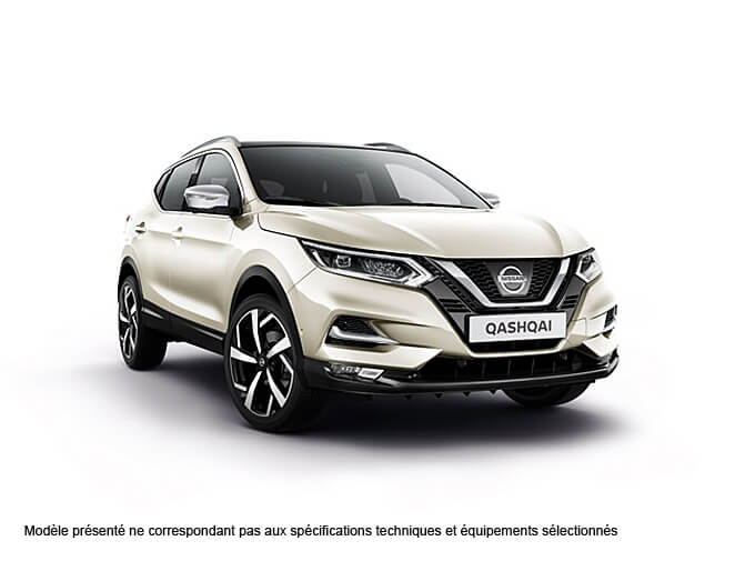 nissan qashqai essence qabg blanc lunaire met en stock. Black Bedroom Furniture Sets. Home Design Ideas
