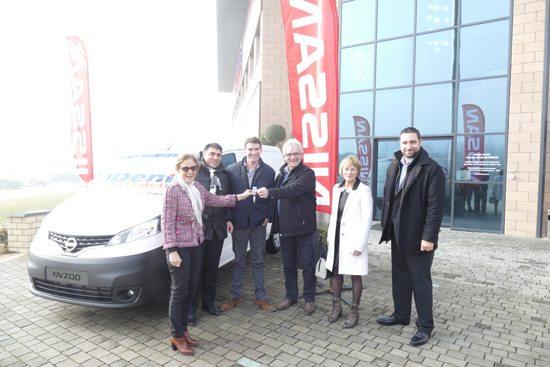 Remise des clés NV200 : Denis Materiaux, Frangeul, Nissan Espace 3